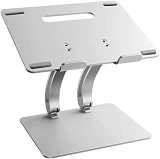 Laptop Stand, Foldable Portable Laptop Stand Holder Adjustable Light Weight Aluminum Ergonomic Tray Compatible Laptop Tabl...