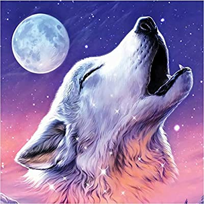 Animal Diamond Painting Kits for Adults, 5d Dia...