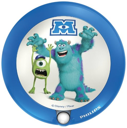 Philips und Disney, Kinder Nacht Licht Sensor LED Monsters University