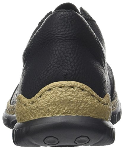 Rieker Damen Sneaker, (schwarz/fumo) - 5