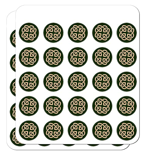 Celtic Knot Love Eternity 1' Planner Calendar Scrapbooking Crafting Clear Stickers