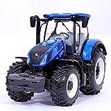 Tavitoys, Bburago 1/32 Farm Tractor New Holland T 7.315 (18-44066), Multicolor (1)