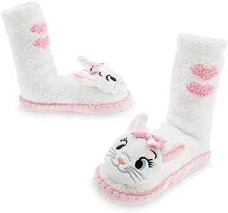 5e17a1444 Disney Marie Slipper Socks for Girls White