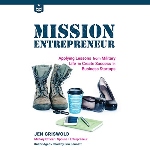 Mission Entrepreneur audiobook cover art