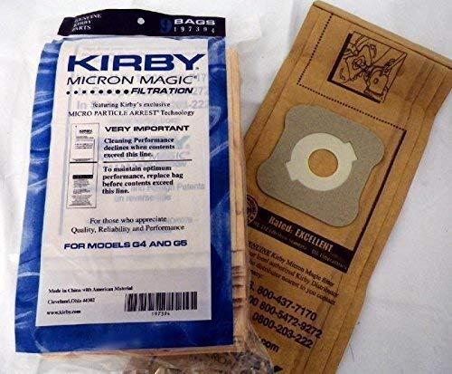 Kirby sacchetti per aspirapolvere micron Magic 197394Fits G3–g7+ Belt by