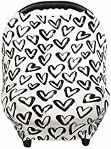 Gufix Infant Car Seat Cover, The Stretchy Nursing Scarf, Car Seat Canopy, Shopping Cart Cover and High Chair Cover that Protects Babies and Breastfeeding Mothers. The 8-in-1 Multiuse Cover for Babies.