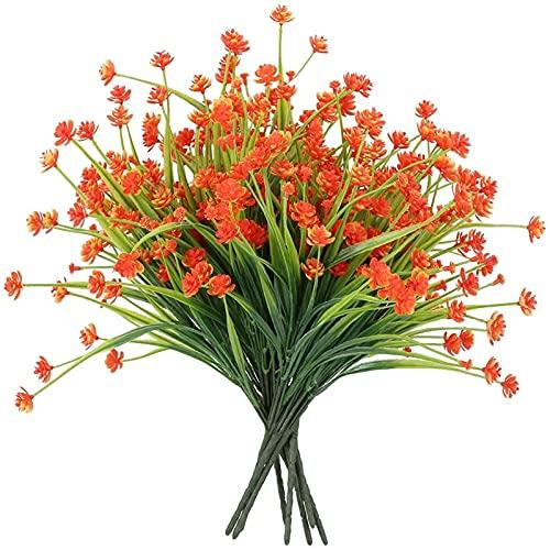 Yyhmkb Künstliche Blumen im Freien, 10...