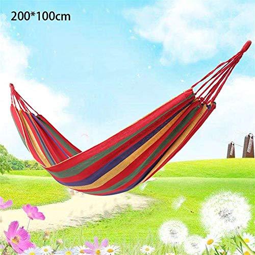 Hangmat Thicken Canvas Tuin Swing Hangmat Buiten Enkel 2 Persoon Slaapzaal Camping Hangmatten 200 * 80 200 * 100 200 * 150cm Hangstoel