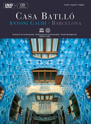 Casa Batllo DVD+CD Antoni Gaudi. Barcelona: Antoni Gaudi - Barcelona - World Heritage Site
