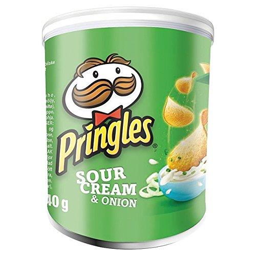 Pringles Pop & Go crema agria y cebolla 40 g