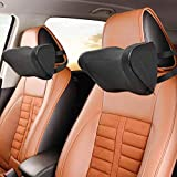 Healifty Car Neck Pillow - Neck Rest Travel Headrest Head Support Cushion for Sleeping Auto Seat Universal, Memory Foam and Ergonomic Design, Relieve Neck Pain an, Relieve Neck Pain and Muscle Tension