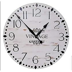 Gracie 30 Inch Farmhouse clock - rustic clock - over sized wall clock - big clock - large clock - farmhouse decor - rustic decor -