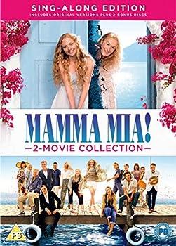 Mamma Mia! 2-Movie Collection  DVD  [2018]