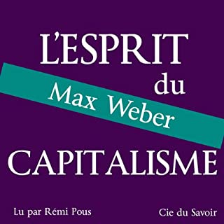 Couverture de L'esprit du capitalisme