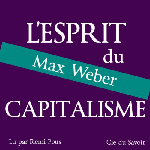 L'esprit du capitalisme audiobook cover art