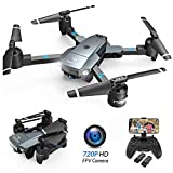 SNAPTAIN A15 Drone Pliable avec Caméra HD 720P 120° Grand Angle WiFi FPV avec Vol...