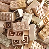 Mokulock Wooden Building Blocks - 24 Pieces