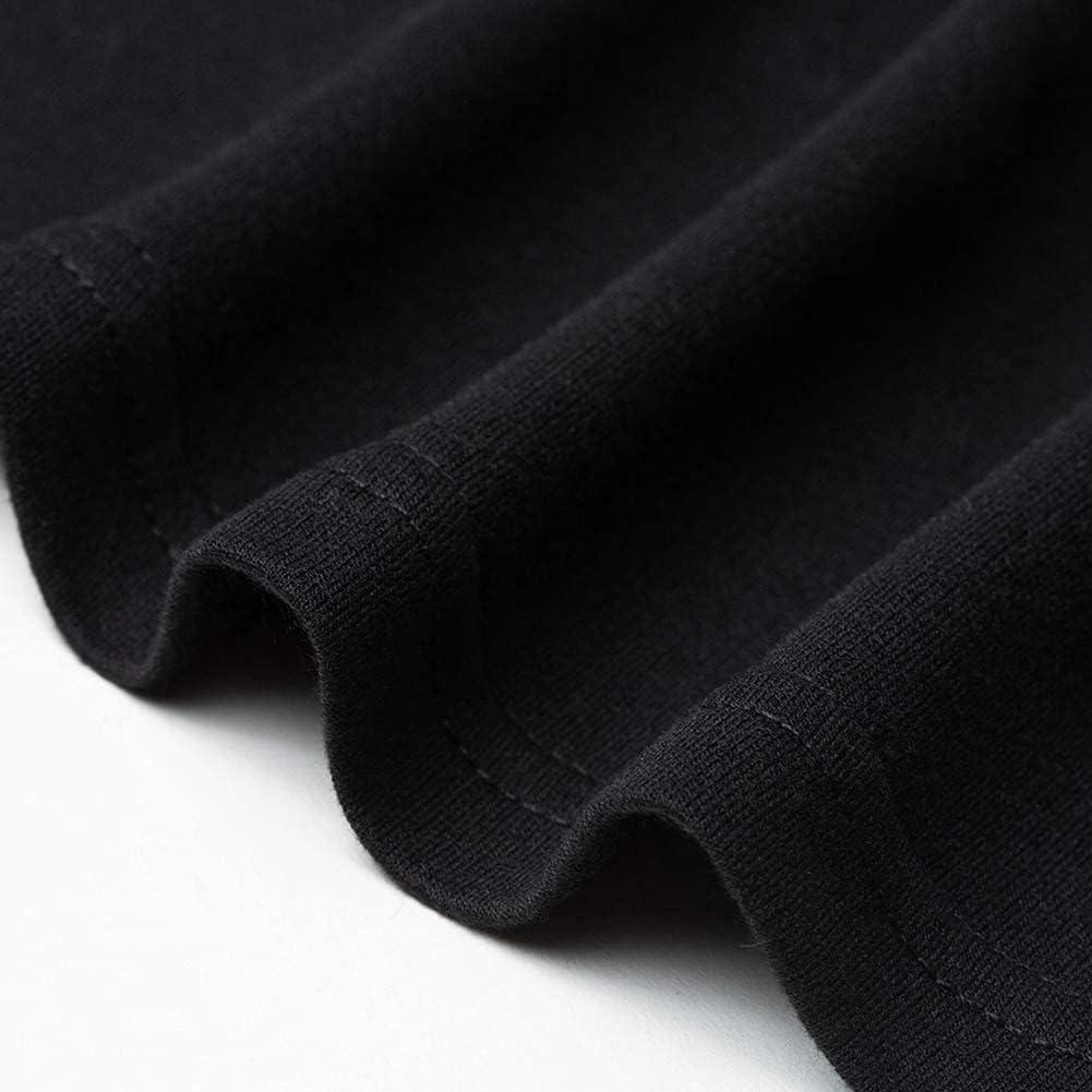 Fleur Wood Women's Long Sleeve T-Shirt Loose Casual Dress Leopard Print Patchwork Winter
