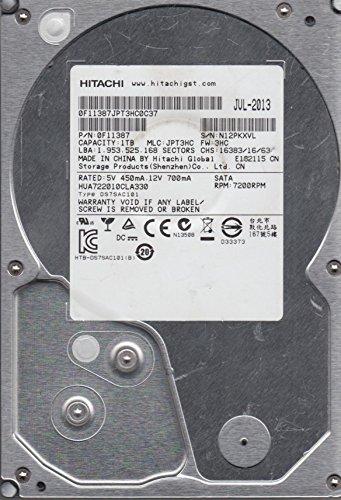 HUA722010CLA330, PN 0F11387, MLC JPT3HC, Hitachi 1TB SATA 3.5 Festplatte