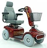 Elektromobil Shoprider TE 889 NR Amrum (6 km/h) Rot; Komfort-Sitz -