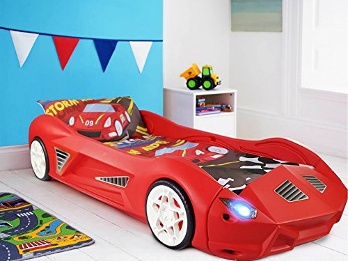 Storm Children's Racing Car Bed (With Lights)