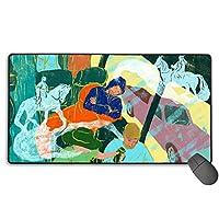 American Dream マウスパッド 大型 ゲーミングマウスパッド キーボードパッド 防水マウスパッド 拡張マウスパッド 滑り止め ゲーム向け オフィス おしゃれ 750*400*3mm