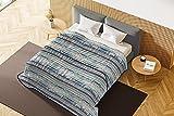 Italian Bed Linen - Colcha de verano Basic estampada, microfibra, muros, 1 plaza