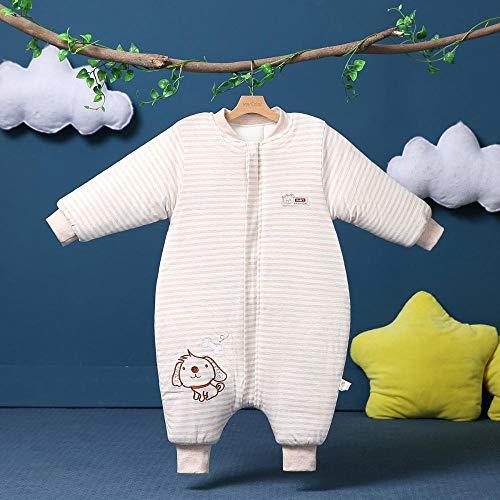Baby Kid peuter Fleece slaapzak, kinderen katoenen quilt-Puppy gekleurde camel_80 yards 0-1 jaar, baby inbakeren deken wandelwagen wrap