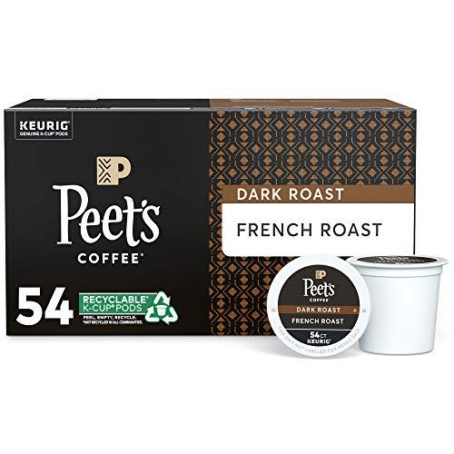 Peet's Coffee, Dark Roast Single Serve K-Cup Coffee Pods for Keurig Coffee...