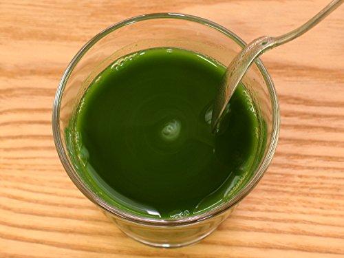 『自然健康社 八丈島産・明日葉青汁粉末 100g アルミ袋入り』の6枚目の画像