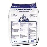 Salztabletten für Wasserenthärtungsanlagen, Sack mit 25kg