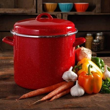 The Pioneer Woman Vintage Speckle 12-Quart Stock...