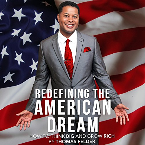 Redefining the American Dream audiobook cover art