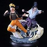 2-Tsha Naruto Tsume Ultimate Storm Naruto VS Sasuke Estatua de Batalla Figura en Caja Altura: 26...