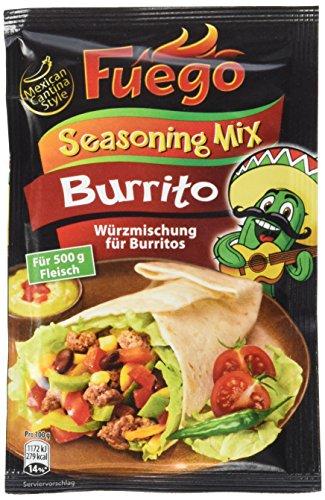 Fuego Burrito Seasoning Mix (1 x 35 g)