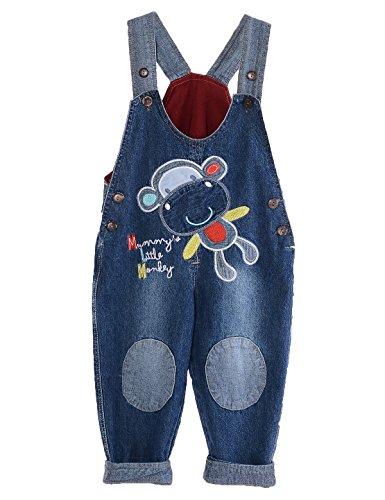 GGBaby@ Latzhose Kinder Baby Jungen Mädchen Bamwolle Latzhosen Jeans Hosen Jeanshose Baby Kinder Overall 100