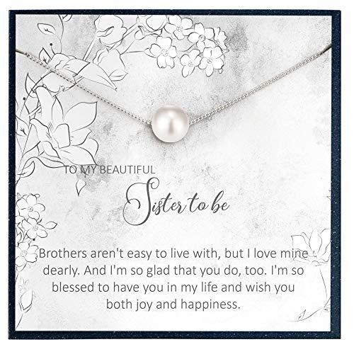 Grace of Pearl Regalo de boda para hermana en la ley regalo de boda para hermana en la ley regalo para pronto ser hermana en la ley regalo de boda para novia