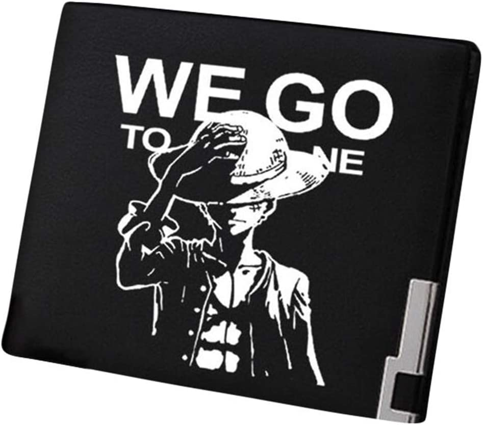 Gumstyle One Piece Anime Artificial Leather Wallet Billfold Money Clip Bifold Card Holder 16