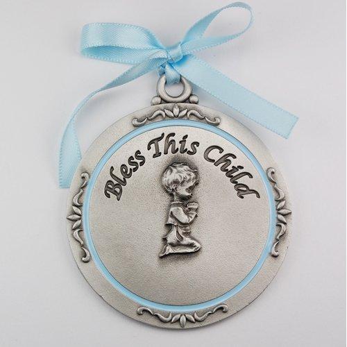 McVan Inc. Boy Crib Medal 2-3/4