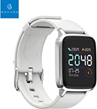 Global Version Xiaomi Haylou LS01 Smart Watch Heart Rate Fitness Tracker IP68 Waterproof Bracelet 210mAh 14 Days Standby Mi Smart Watch LS01 for Android iOS Phone