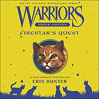 Warriors Super Edition: Firestar's Quest audiobook cover art