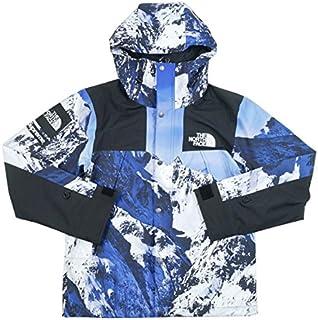 SUPREME シュプリーム ×THE NORTH FACE 17AW Mountain Parka マウンテンジャケット 白青 L 並行輸入品