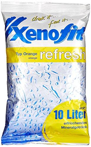 Xenofit MINERALSTOFF-GETRÄNK refresh | ideal für Teamsport | mit Magnesium, Calcium und Vitamin C | fettfrei | glutenfrei | laktosefrei | vegan | 600g | Orange