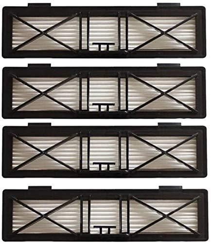Kit d'accessoires 4 pièces 20 x 5,5 cm Ultra Performance Filtre de rechange pour Neato Botvac D Series 945–0215 Filtre D75/80/85/945 1374 (couleur : SMT051) Remplacement (couleur : Smt051)