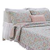 Brandream Green Paisley Quilt Bedding Set Cotton Oversized Bedspread Quilt Set Soft Lightweight Full Size