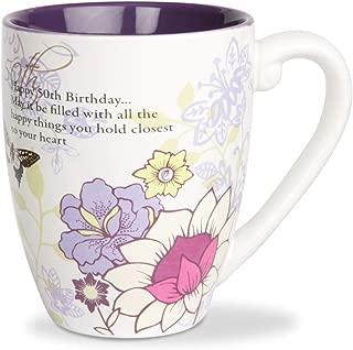 Mark My Words 50th Birthday Mug, 4-3/4-Inch, 20-Ounce Capacity