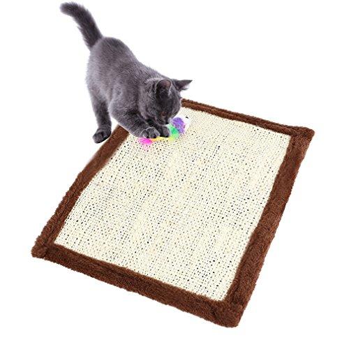 #N/A Katzen-Kratzmatte Katzenteppich,kratzbretter Katze Sisal Matte zum Schutz von Möbeln,Kratzteppich,Kratzschutz Sofa,Kratzmatte Kratzteppich Sisalteppich für Katze Krallenpflege,Fußbodenheizung
