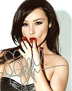 Danielle Harris SEXY BLOOD LICKING In Person Autographed PhotoPrivate Signing