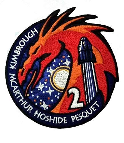 ABEMBLEM Écusson Mission Alpha SpaceX Crew-2 Capsule Crew Dragon Thomas Pesquet Crew2