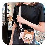 Aeong かわいい豚鼻豚お尻3D財布ストラップクロスボディ電話ケースFor iPhone 11プロマックスケースXS最大XR 6 6 s 7 8プラスXソフトストラップカバー-Style 3-For iphone 6